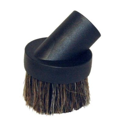black dusting brush